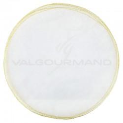 Tulles plats bord OR - 50 pièces en stock