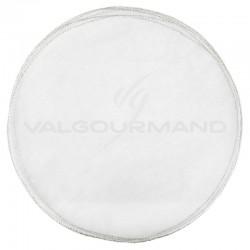 Tulles plats bord ARGENT - 50 pièces en stock
