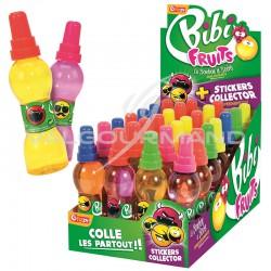 Bibi fruits parfums assortis - carton de 28 bouteilles en stock