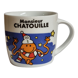 Mug Mr chatouille en stock