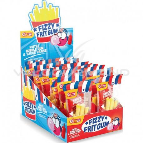 Frit gum et sa sauce fraise - boîte de 24