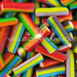 Bâtons multicolores lisses - 1 kg