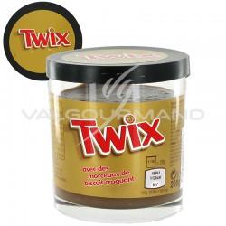Pâtes à tartiner Twix 200g - les 6 pots en stock