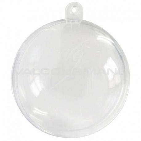 Boules transparentes en plexiglass 10 CM - 20 pièces