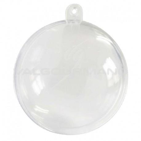 Boules transparentes en plexiglass 8 CM - 20 pièces