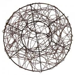 Coupelles PM en fil métal CHOCOLAT - 2 pièces (soit 1.40€ pièce !)