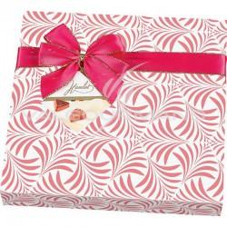 Boîtes décorées de choc assortis Festival Rose 200g - présentoir de 8 en stock