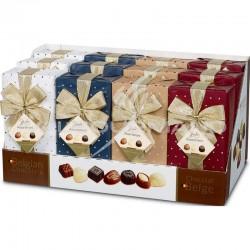 Ballotins décorés Image de choc assorti 250g - présentoir de 12 en stock
