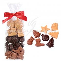 Fritures en chocolat - sachet de 150g (qualité pâtissière) en stock