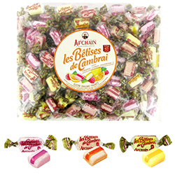 Bétises de Cambrai Fruits assortis - 1kg