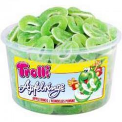 Rondelles de pomme acidulée - tubo de 150 en stock