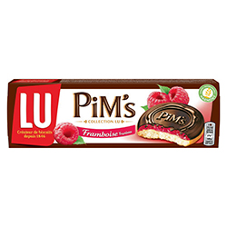 Pims framboise LU 150g - 15 paquets