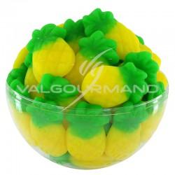 Ananas gélifiés lisses - 1kg