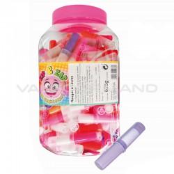 Sucettes rouges à lèvres - tubo de 125
