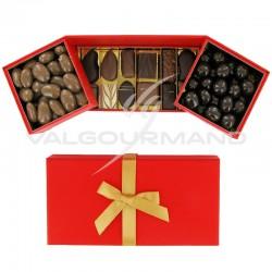 Coffret Magie garni de chocolats et d'Equinoxes VALRHONA - 465g en stock