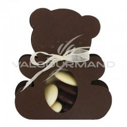 Ballotin Ourson CHOCOLAT - pièce en stock