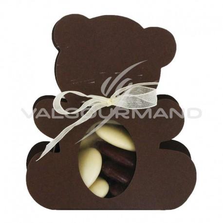 Ballotin Ourson CHOCOLAT - pièce