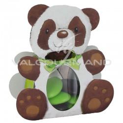 Ballotins Panda et ruban 7mm chocolat OFFERT - 25 pièces (soit 0.99€ pièce !) en stock