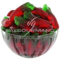 Piments gélifiés lisses - 1kg en stock