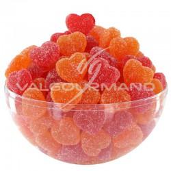 Mini coeurs assortis candie - 1kg en stock