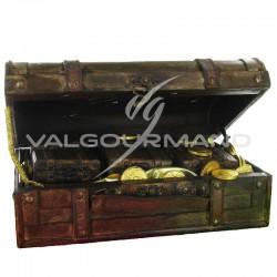 Coffre GM en bois - pièce en stock