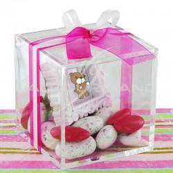 Boîte Cristal en plexiglass 8X8X8 CM - pièce en stock