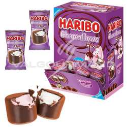 Chamallows Choco HARIBO - boîte de 50 en stock