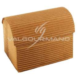 Coffre GM carton ondulé NATUREL - pièce