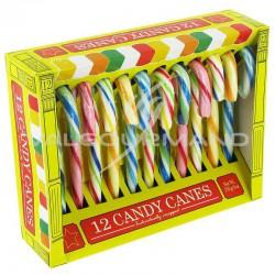 Candy canes 12,8cm - boîte de 12 en stock