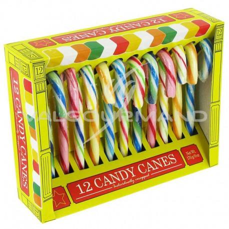 Candy canes 12,8cm - boîte de 12