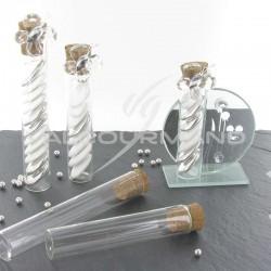 Eprouvettes 10 CM en verre - 24 pièces (soit 0.48€ pièce !) en stock