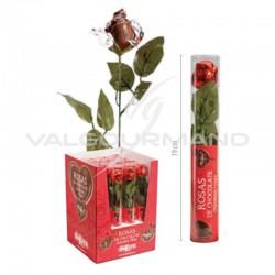 Roses en chocolat 20g - le lot de 16 (soit 2.99€ pièce !) en stock