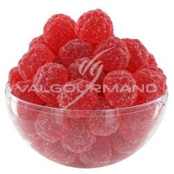 Fraises rouges candies - 1kg en stock