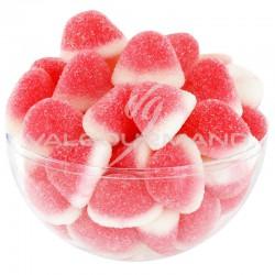 Bisous fraise Grand Modèle - sachet de 1kg Dulceplus en stock