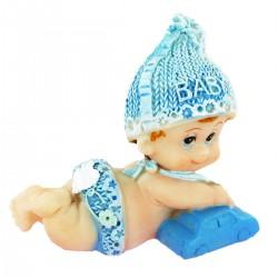 Sujets Baby Boy en résine - 2 pièces assorties