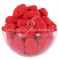 Nuages fraises aérés sucrés - 1kg en stock