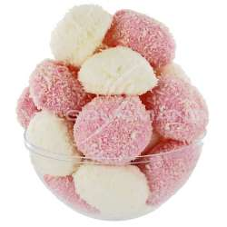 Boules guimauves coco tendres HARIBO - 1kg DLUO 06/2020