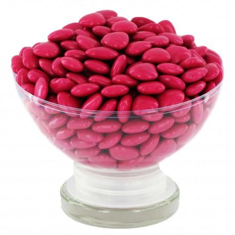 Mini Coeurs Dragées chocolat FRAMBOISE - 500g