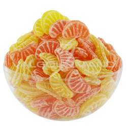 Quartiers orange et citron - 2kg (soit 6.90€ le kg !) Origine France en stock