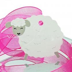 Etiquettes perforées Mouton - 4 vignettes