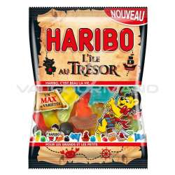 L'île au trésor HARIBO 120g - 30 sachets (0.99€ le sachet !)
