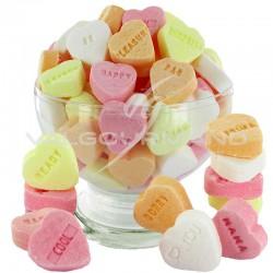 Coeurs dextrose fruités - 1kg en stock