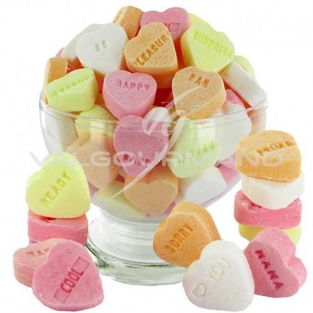 Coeurs dextrose fruités - 1kg
