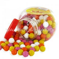 Billes de chewing-gum - bonbonnière de 580g en stock