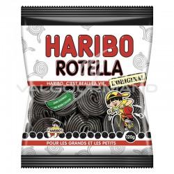 Rotella - Mètres roulés réglisse HARIBO 120g - 30 sachets