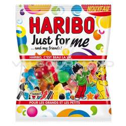 Just for me HARIBO 120g - 30 sachets (0.99€ le sachet !)