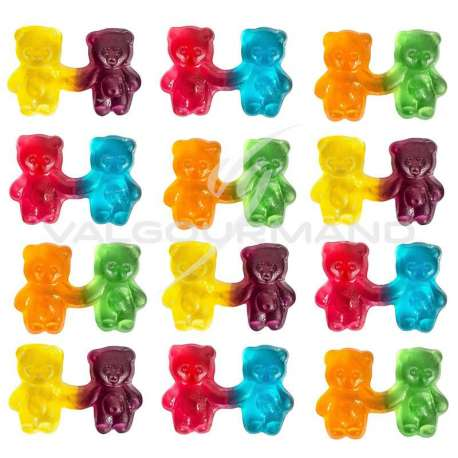 Twin ours HARIBO - 1,5kg (7,50€ le kg !)