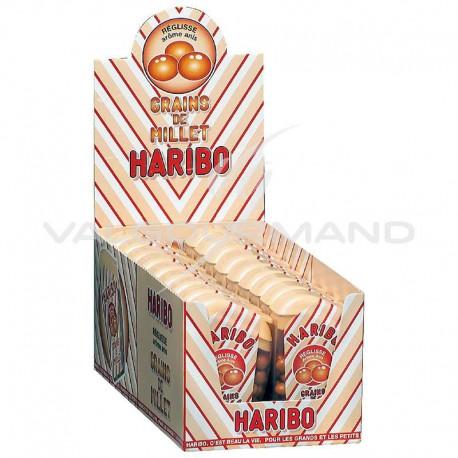 Grain de Millet réglisse / anis HARIBO - 18 boîtes