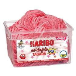 Acidofilo fraises tagada Pik HARIBO - tubo de 300 en stock