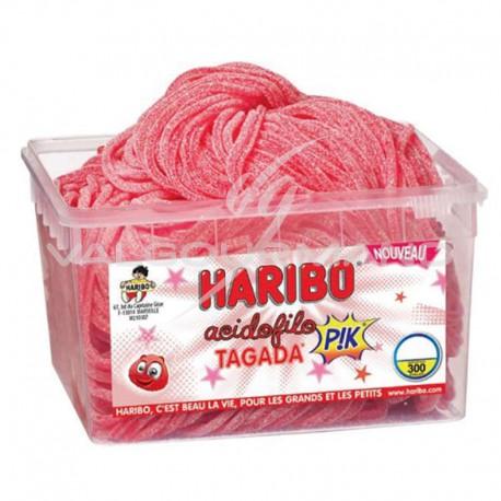 Acidofilo fraises tagada Pik HARIBO - tubo de 300